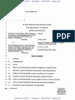 Lawsuit Death in Multnomah Jail Coupchiak