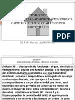 1era. y 2da. SESION Delitos Contra La Administracion Publica