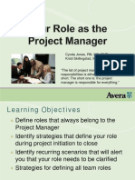 PDF Avera Events Your Role as Project Manager II