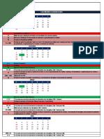 Calendário Acadêmico 2016 - EAD