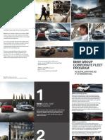 The BMW Group Corporate Fleet Program Brochure