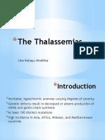 The Thalassemias Like