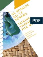 Talking Therapies for Maori