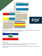 Cronologia de La Bandera de Guatemala