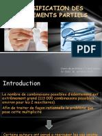 Classification Des Edentements Partiels