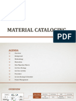 Material Cataloging SAP