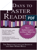 Faster Reading by the Princeton Language Institute