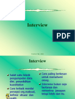Conducting Interview1