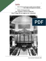 Sobre El Órgano Amezua de Los Ingleses de Valladolid (2)