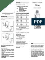 5001474 v13x b Manual Transmissor Txblock 4-20ma Spanish