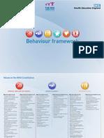 VBR Behaviour Framework Based on the NHS Constitution