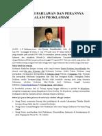 Biografi Pahlawan Dan Perannya Dalam Proklamasi