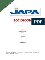 Tarea VI Sociologia