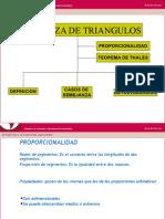 Semejanza de Triangulos 1