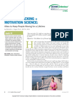 ACTIVITY TRACKING + MOTIVATION SCIENCE Allies to Keep People Moving for a Lifetime