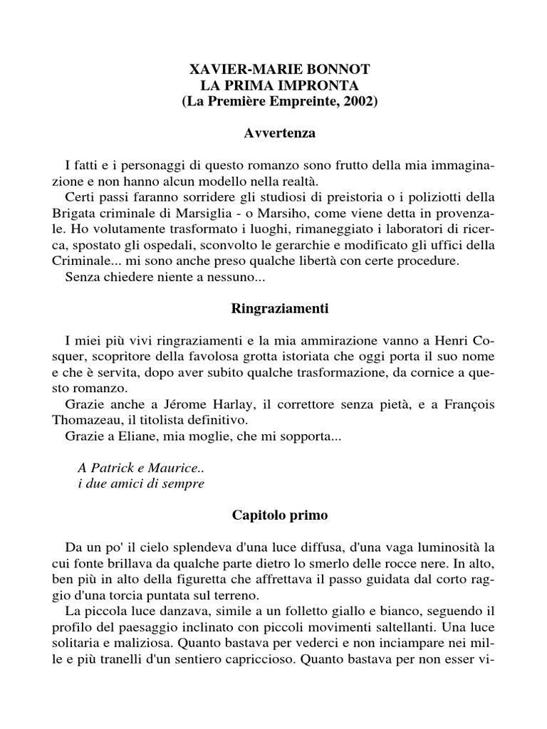 promo code 6c02b b1469 Xavier-Marie Bonnot - La Prima Impronta (Ita Libro).pdf