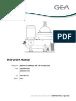 Westfalia Separator O&M Manual, Model