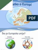 Europe Nutshell Presentation Hr