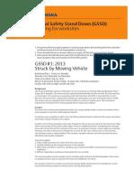 GSSD #1_2013 Worksite Briefing