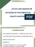PHA3413 - Aula 09 - Tratamento de Lodo