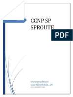 Ccnp Sp Sproute