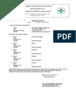 Surat Tugas Kader Jumantik & Posbindu