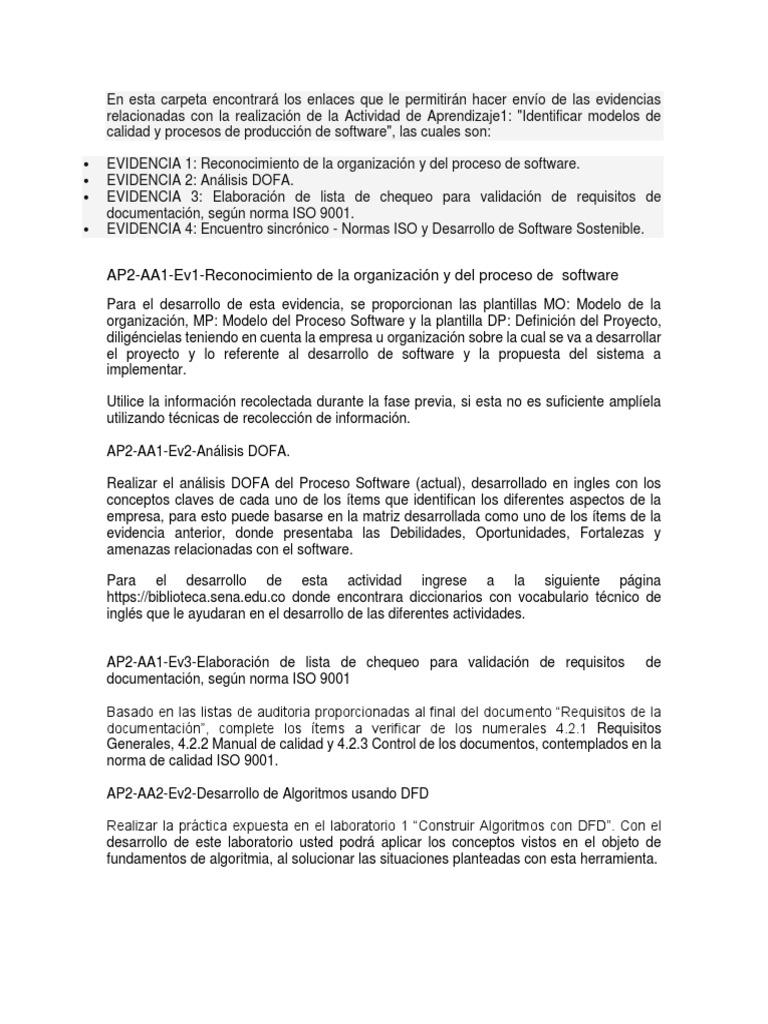 Único Plantilla De Lista De Verificación De Aseguramiento De La ...