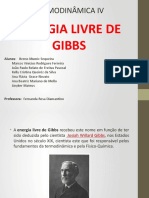 Energia Livre de Gibbs