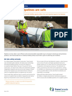 Ensuring Our Pipelines Are Safe Factsheet