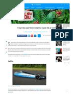 5 Carros Que Funcionam à Base de Ar Comprimido - TecMundo