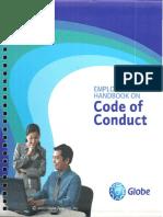 Globe Employee Handbook on Code of Conduct 2016
