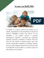 componentes para una familia feliz