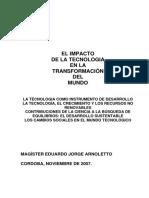 El Impacto de la Tecnologia en la Transformación del Mundo.pdf