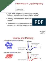 Fundamentals of Crytallography