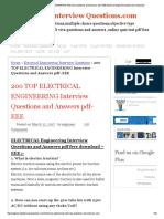 EEE Questions