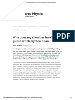 Why Does My Shoulder Hurt_ a Guest Article by Ben Dean _ the Sports Physio