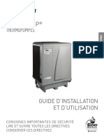 Ultra Temp Heat Pump Installation and Users Guide French