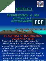 Capitulo i Introduccion Del Gis en Fotogrametria