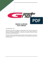 BB2083 & BB2084 - User's Manual