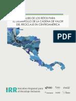 Analisis de Los Retos Para El Desarrollo de La Cadena de Valor Del Reciclaje en Centroamerica