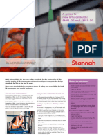 Stannah EN81!20!50 New Regs Leaflet