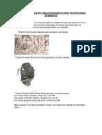 Trazos de Diferentes Líneas Perpendiculares en Posiciones Diferentes