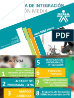 Presentación Sena Integracion Media Tecnica