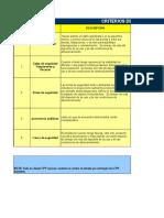 Criterios Para Cambio de Epp