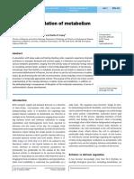 Circadian regulation of metabolism
