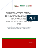 Plan Estrategico Extensionismo Zacatecas 2017 Publicar