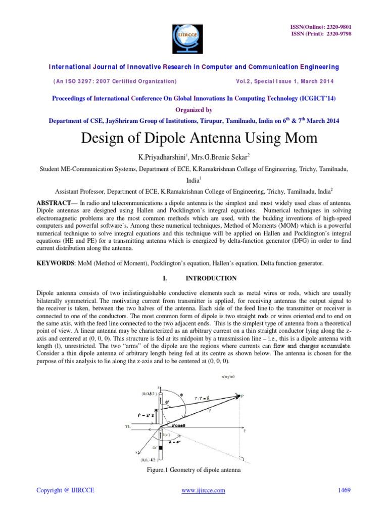 design-of-dipole-antenna-using-mom - Copy pdf