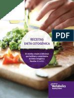 Livro Receitas Dieta Cetogenica