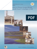 Policy Interventions to Promote Energy Efficient and Environmentally Sound Technologies in SMI - AIT, Thailand