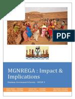 MGNREGA_Final Report Group 4